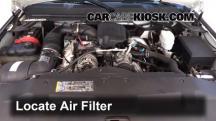 2009 Chevrolet Silverado 3500 HD LT 6.6L V8 Turbo Diesel Crew Cab Pickup (4 Door) Filtro de aire (motor)