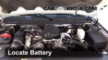 2009 Chevrolet Silverado 3500 HD LT 6.6L V8 Turbo Diesel Crew Cab Pickup (4 Door) Batería