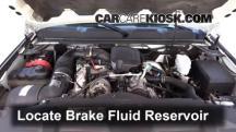 2009 Chevrolet Silverado 3500 HD LT 6.6L V8 Turbo Diesel Crew Cab Pickup (4 Door) Líquido de frenos