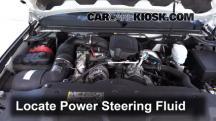 2009 Chevrolet Silverado 3500 HD LT 6.6L V8 Turbo Diesel Crew Cab Pickup (4 Door) Líquido de dirección asistida