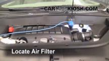 2009 Chevrolet Traverse LT 3.6L V6 Air Filter (Engine)