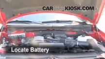 2009 Ford F-150 XLT 5.4L V8 FlexFuel Crew Cab Pickup (4 Door) Battery