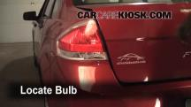 2009 Ford Focus SE 2.0L 4 Cyl. Sedan (4 Door) Lights