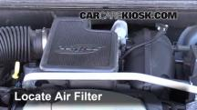 2009 GMC Envoy SLE 4.2L 6 Cyl. Air Filter (Engine)