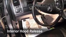 2009 Honda CR-V EX-L 2.4L 4 Cyl. Capó