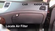 2009 Hyundai Genesis 4.6 4.6L V8 Air Filter (Cabin)
