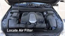 2009 Hyundai Genesis 4.6 4.6L V8 Air Filter (Engine)