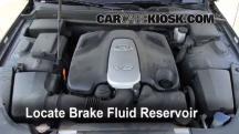 2009 Hyundai Genesis 4.6 4.6L V8 Brake Fluid
