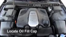 2009 Hyundai Genesis 4.6 4.6L V8 Aceite