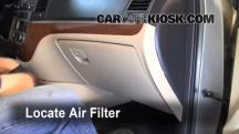 2009 Hyundai Santa Fe Limited 3.3L V6 Air Filter (Cabin)