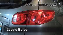 2009 Hyundai Santa Fe Limited 3.3L V6 Lights