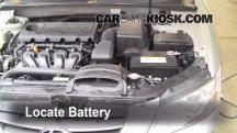 2009 Hyundai Sonata GLS 2.4L 4 Cyl. Battery