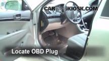 2009 Hyundai Sonata GLS 2.4L 4 Cyl. Compruebe la luz del motor