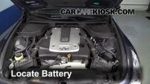 2009 Infiniti G37 X 3.7L V6 Sedan (4 Door) Battery