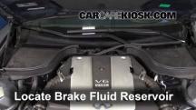 2009 Infiniti G37 X 3.7L V6 Sedan (4 Door) Brake Fluid