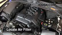 2009 Jaguar XF Luxury 4.2L V8 Filtro de aire (motor)
