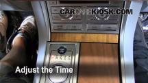 2009 Jaguar XF Luxury 4.2L V8 Reloj