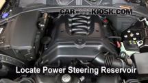 2009 Jaguar XF Luxury 4.2L V8 Líquido de dirección asistida