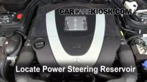 2009 Mercedes-Benz C300 Sport 3.0L V6 Power Steering Fluid