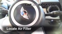 2009 Mini Cooper Clubman 1.6L 4 Cyl. Filtro de aire (interior)