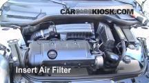 2009 Mini Cooper Clubman 1.6L 4 Cyl. Filtro de aire (motor)