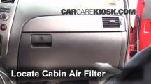 2009 Nissan Armada SE 5.6L V8 FlexFuel Air Filter (Cabin)