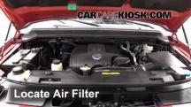 2009 Nissan Armada SE 5.6L V8 FlexFuel Air Filter (Engine)