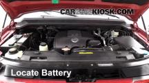 2009 Nissan Armada SE 5.6L V8 FlexFuel Battery