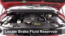 2009 Nissan Armada SE 5.6L V8 Brake Fluid