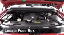 2009 Nissan Armada SE 5.6L V8 FlexFuel Fusible (motor)