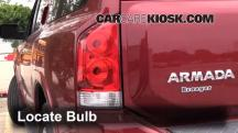 2009 Nissan Armada SE 5.6L V8 FlexFuel Lights