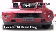 2009 Nissan Armada SE 5.6L V8 FlexFuel Aceite