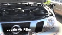 2009 Nissan Frontier LE 4.0L V6 Crew Cab Pickup Air Filter (Engine)