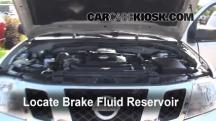 2009 Nissan Frontier LE 4.0L V6 Crew Cab Pickup Brake Fluid
