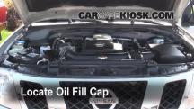 2009 Nissan Frontier LE 4.0L V6 Crew Cab Pickup Aceite