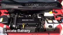 2009 Pontiac G3 1.6L 4 Cyl. Battery