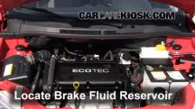2009 Pontiac G3 1.6L 4 Cyl. Brake Fluid
