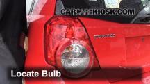 2009 Pontiac G3 1.6L 4 Cyl. Luces