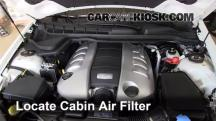2009 Pontiac G8 GT 6.0L V8 Air Filter (Cabin)