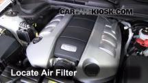 2009 Pontiac G8 GT 6.0L V8 Air Filter (Engine)