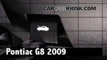 2009 Pontiac G8 GT 6.0L V8 Review