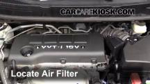 2009 Pontiac Vibe 2.4L 4 Cyl. Air Filter (Engine)