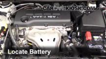 2009 Pontiac Vibe 2.4L 4 Cyl. Battery