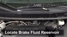 2009 Pontiac Vibe 2.4L 4 Cyl. Brake Fluid