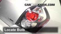 2009 Pontiac Vibe 2.4L 4 Cyl. Luces