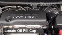 2009 Pontiac Vibe 2.4L 4 Cyl. Aceite