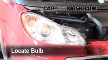 2008 Smart Fortwo Passion 1.0L 3 Cyl. Lights