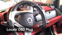 2009 Smart Fortwo Passion Cabrio 1.0L 3 Cyl. Check Engine Light