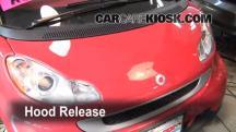 2009 Smart Fortwo Passion Cabrio 1.0L 3 Cyl. Capó