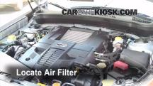 2009 Subaru Forester XT Limited 2.5L 4 Cyl. Turbo Air Filter (Engine)